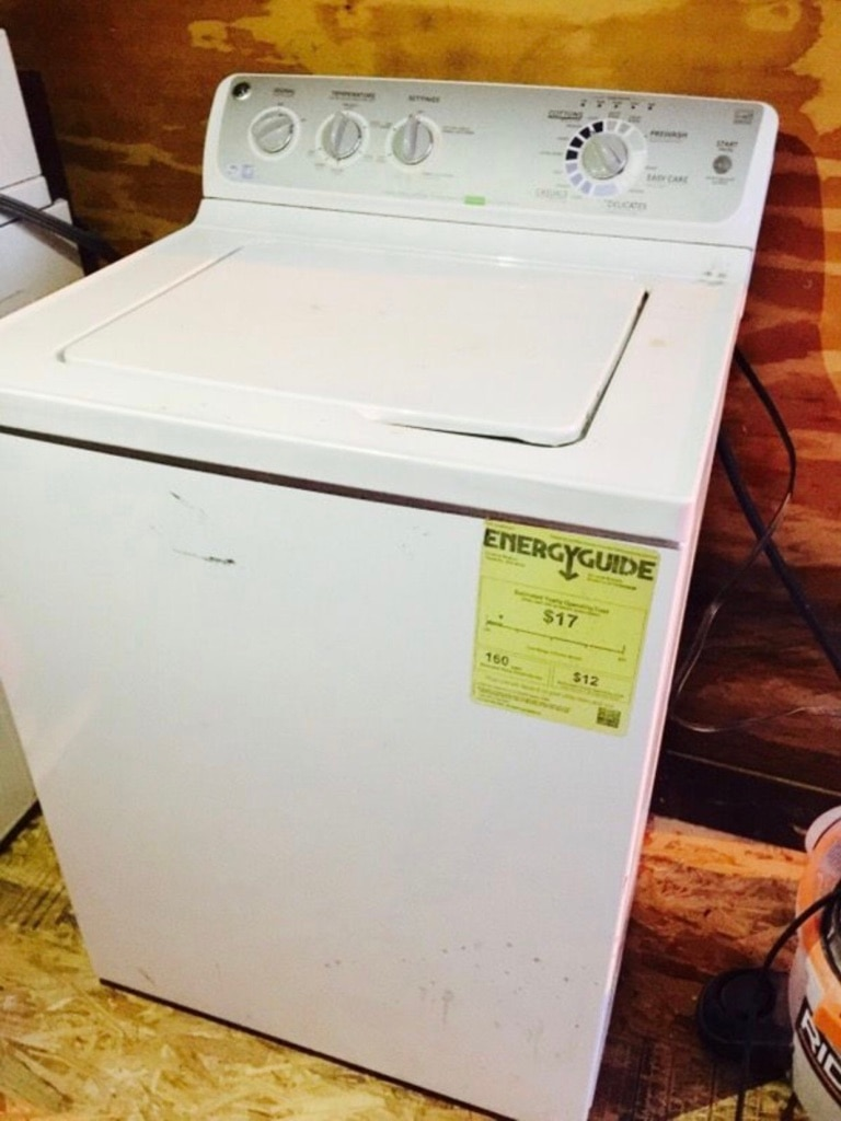 General Electric washing Machine c76 manual
