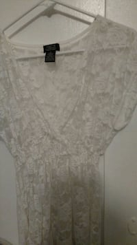 New! White lace tunic top Los Angeles, 90018