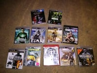 assorted PS3 game case lot Rochester, 55901