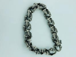 David Yurman Mens Armory Chain Link Bracelet.