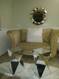 Chesterfield Sofa, Love Seat and Vintage Tables District Heights, 20747