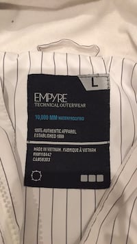 EMPYRE Outdoor Jacket 10,000mm proof Burnaby, V5E