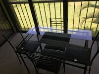 Dining table with 4 chairs in perfect condition Boca Raton, 33433