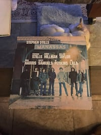 Manassas lp Vinyl Album Record
