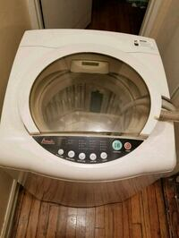 white and gray top-load clothes washer Brooklyn, 11218