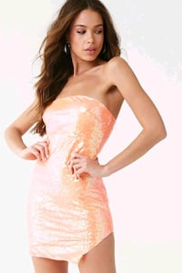 New Forever 21 Sequin Tube Mini Dress Toronto, M8V 0A8