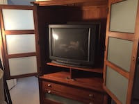Brown wooden tv cabinet Scottsdale, 85251