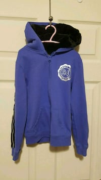 Girls size 7-8 Hoodie with fuzzy lined hood.