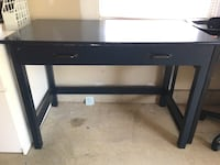 black wooden single-drawer table Fairfax, 22030