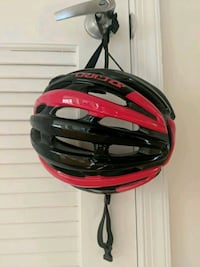 Giro Foray S black/red helmet (small size) Silver Spring, 20910