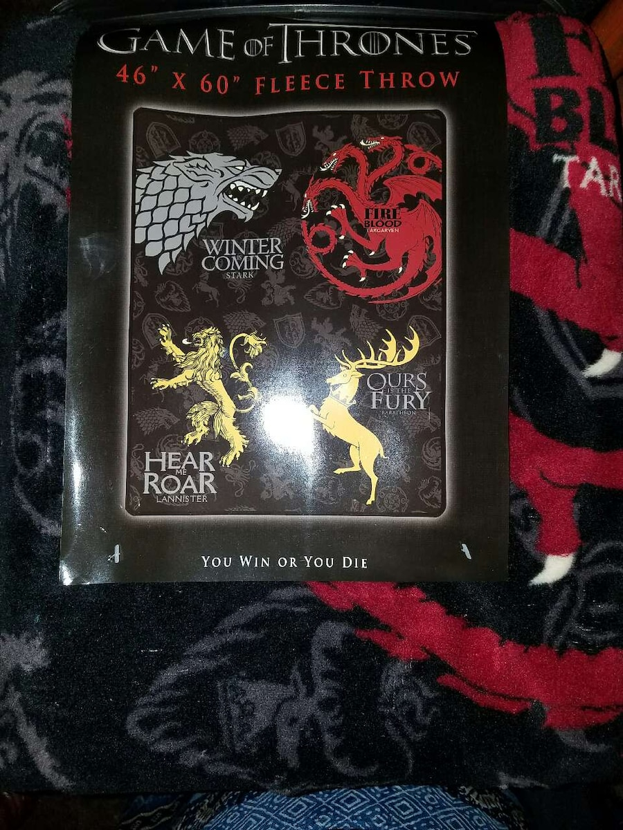 Letgo game of thrones throw in anderson in - Dire wolf bookends ...