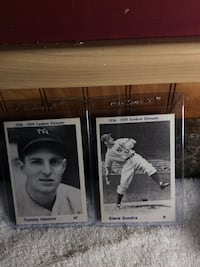 two Tommy Henrich baseball trading cards Toledo, 43609