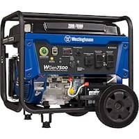 Remote and Push=Start Gas Generator SPRINGFIELD