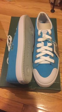 Brand new blue Lacoste shoes size 8.5