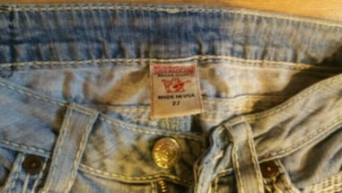 Womens Real true religion jeans