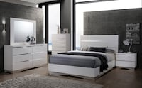 BEDROOM SET STANTON WHITE