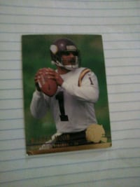 NFL LEGEND WARREN MOON CARD Washington