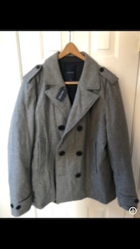 New with tags nautica men wool jacket size large  Glendale, 80246