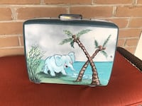 Handpainted Vintage Suitcase  Pacific Grove, 93950