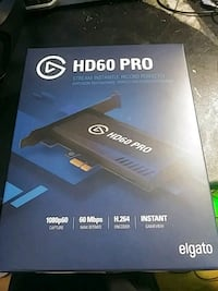 elgato hd60 pro new in box