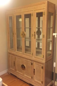 Wood display hutch  Mississauga, L4Z 1J8