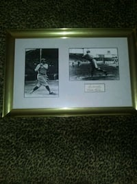 Babe Ruth Pictures with Signature  Kearneysville, 25430