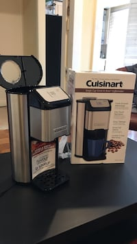 Black and gray cuisinart coffeemaker with box Mississauga, L4Z 1J6