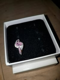 sterling silver pink and Clear  CZ diamonds  New Port Richey, 34653