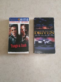 Sylvester Stallone VHS Movies Barrie, L4M 7J9