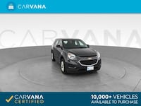 2017 Chevy Chevrolet Equinox suv LS Sport Utility 4D Gray Brentwood
