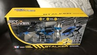 Black and blue rc helicopter Oakville, L6M 0P2