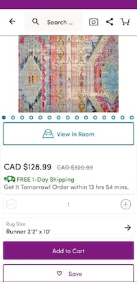 white and blue floral textile screenshot Mississauga