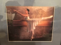 Pretty Ballerina Framed Picture