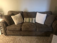 Sofa, chair and love seat