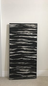 Black and gray painting Vaughan, L4H 3X1