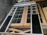 Exterior door frame with side and upper panel  64/ Jersey City, 07304