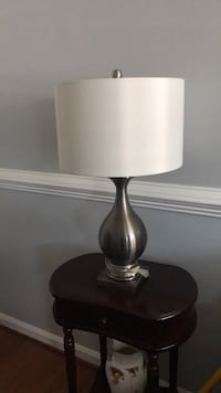 black and white table lamp Sterling, 20165
