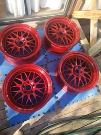 "18"" Esr wheels candy red Waldorf, 20601"