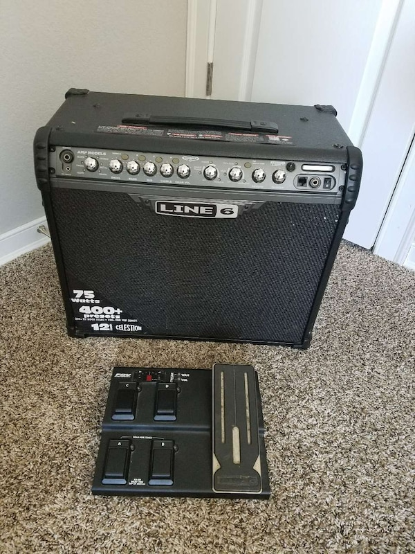 Used Line 6 Spider 3 Guitar Amp With Fx Pedal For Sale In