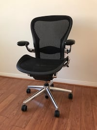 Aeron Herman Miller C (large) fully loaded Aluminum polished  Las Vegas, 89178