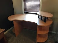 brown and white wooden desk 3127 km