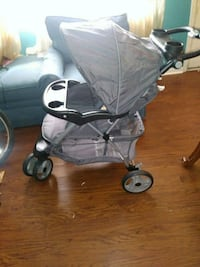 baby's gray and black stroller Chesapeake, 23324