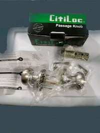 CitiLoc Equis Style Passage Latch Door Knob Set $8 Louisville, 40299
