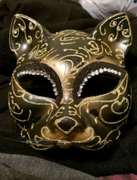 Cat mask Clinton