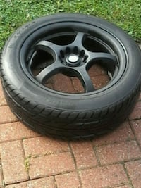 Reduced Set of 4 rims and tires  Toronto, M6B 1Z8