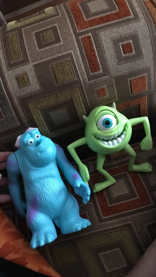 Monsters inc. character toys