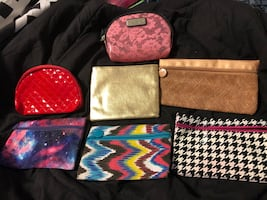 Small make up bags (Victoria Secret and ipsy)