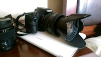 Sony Alpha a77 II DSLR Camera + 4 lenses.