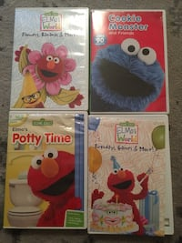 4 Elmo movies Hedwig Village, 77024