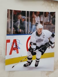Rob Blake Autographed 8x10 Photo For Sale